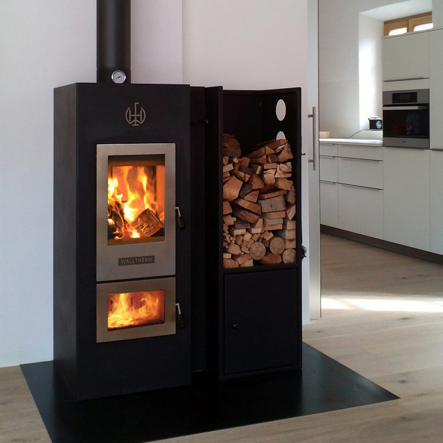termostufa a legna walltherm zebru didatto srl