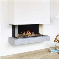 B95 Trifacciale Camini a gas Tulp by Stuv | Didatto srl